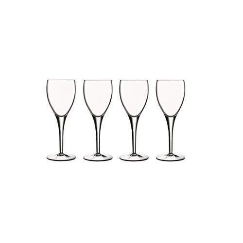 Luigi Bormioli - Michelangelo - Verre Gourmet - Cristal Sparkx - Ultra clair et durable - Va au lave-vaisselle - Fabriqué en Italie - Lot de 4, 235 ml