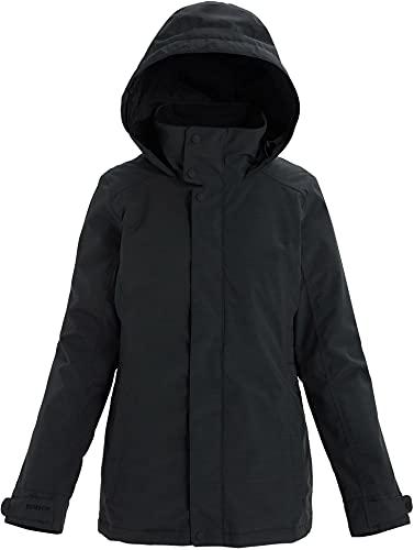 Burton Womens Jet Set Jacket, True Black Heather New , Large