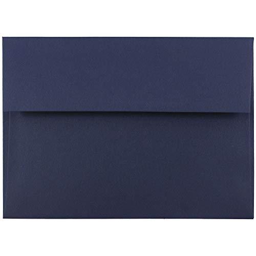 Colores Variados Paquete de 125 JAM PAPER Sobres de Invitaci/ón 133,3 x 184,1 mm
