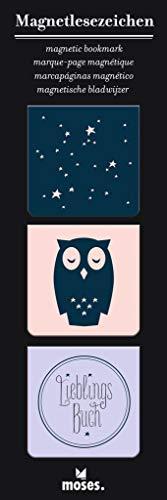 moses. Magnetlesezeichen Lieblingsbuch | Libri_x | Bookmarks | Für das Lieblingsbuch | charmant illustriert