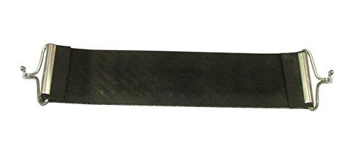 Pandoras Upholstery 60,96 cm para tapicería de Goma con Correa Pirelli Ercol Gancho Estilo, Negro