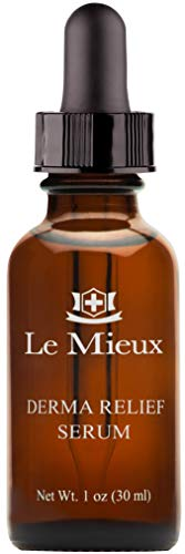 Le Mieux Derma Relief Serum - Hydrating Oil Serum for Face with Ceramides, Squalane & Kukui, Moisturizing Facial Oils for Dry or Sensitive Skin, No Parabens or Sulfates (1 oz / 30 ml)