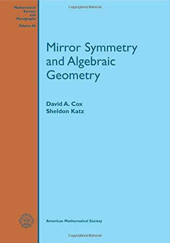 Mirror Symmetry and Algebraic Geometry (Mathematical Surveys and Monographs)