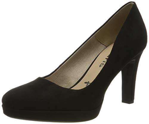 Tamaris Damen 1-1-22408-24 Pumps, Schwarz (Black 1), 37 EU