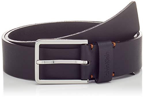 Calvin Klein 3.5cm Essential Plus Belt Cintura, Nero (Black 001), 7 (Taglia Produttore: 95) Uomo