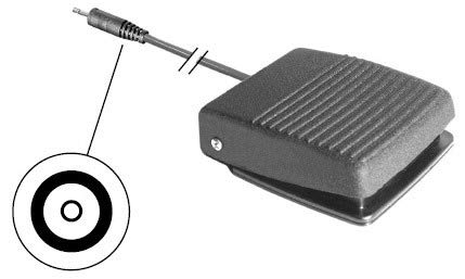 Foot Switch Control for Dentsply Cavitron G124 SPS Type, 2 Position (OEM - 565162005) - RPI #DSF012