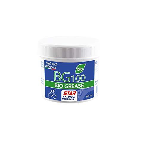 Star BluBike 555 - Grasso bio per Bicicletta Unisex, da Adulto, 60 ml, Colore: Bianco
