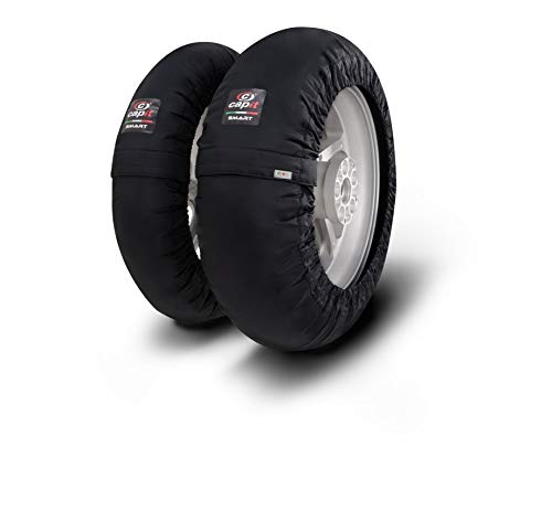 Capit Smart M/XL - Calentador de neumáticos (enchufe UE), color negro