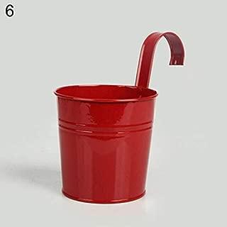 Keg Planter - HOT Sale! Metal Iron Hanging Flower Pot Container Home Balcony Garden Planter Barrel Decor Hangable Flower Pot