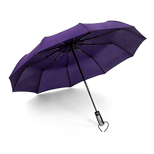 Yada – Paraguas de marca para mujer, plegable, cortavientos, automático, para el sol y la lluvia