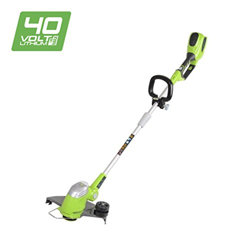 Greenworks 40V Cordless Grass String Trimmer, Cutting Width 30cm - Battery and Charger Not Included - 21107