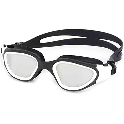 ZKLL Gafas De Natación para Niños/Lente De Humo Protección UV Estupendible Anti-Niebla Correa Ajustable Ajuste para Unisex para Hombres Adultos Y Mujeres Adolescentes (Color : White)