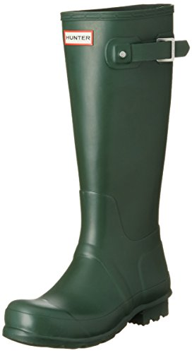 Hunter Women's Original Tall Hunter Green Rain Boots - 5 B(M) US