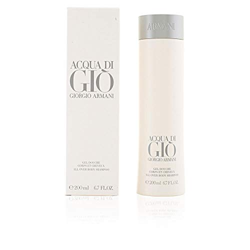 Giorgio Armani Acqua di Gio homme / men, Duschgel 200 ml, 1er Pack (1 x 200 ml)