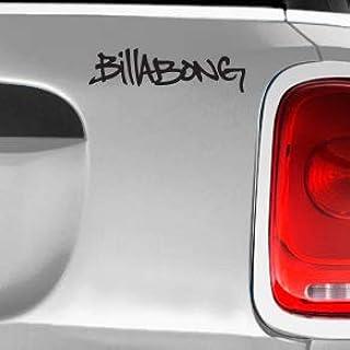 Billabong Scribble Automotive Decal/Bumper Sticker