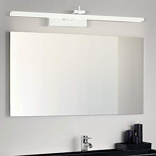 Wowatt Lámpara de Espejo LED 960LM Aplique Espejo Baño 12W 220V 49cm...
