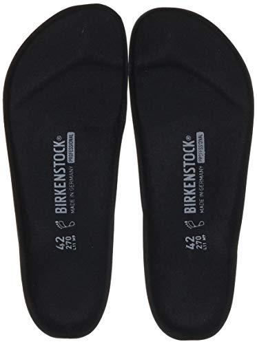 Birkenstock 3201047-39 Ersatzfussbett für PU Clogs PROFI BIRKI - schwarz - Größe 39
