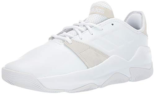 adidas Men's Streetflow, White/White/raw White, 10 M US