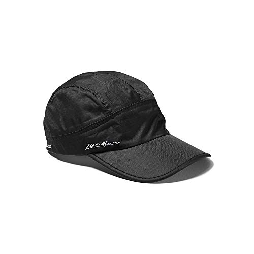 Eddie Bauer Mens Storm Waterproof Baseball Cap, Black Regular ONE Size
