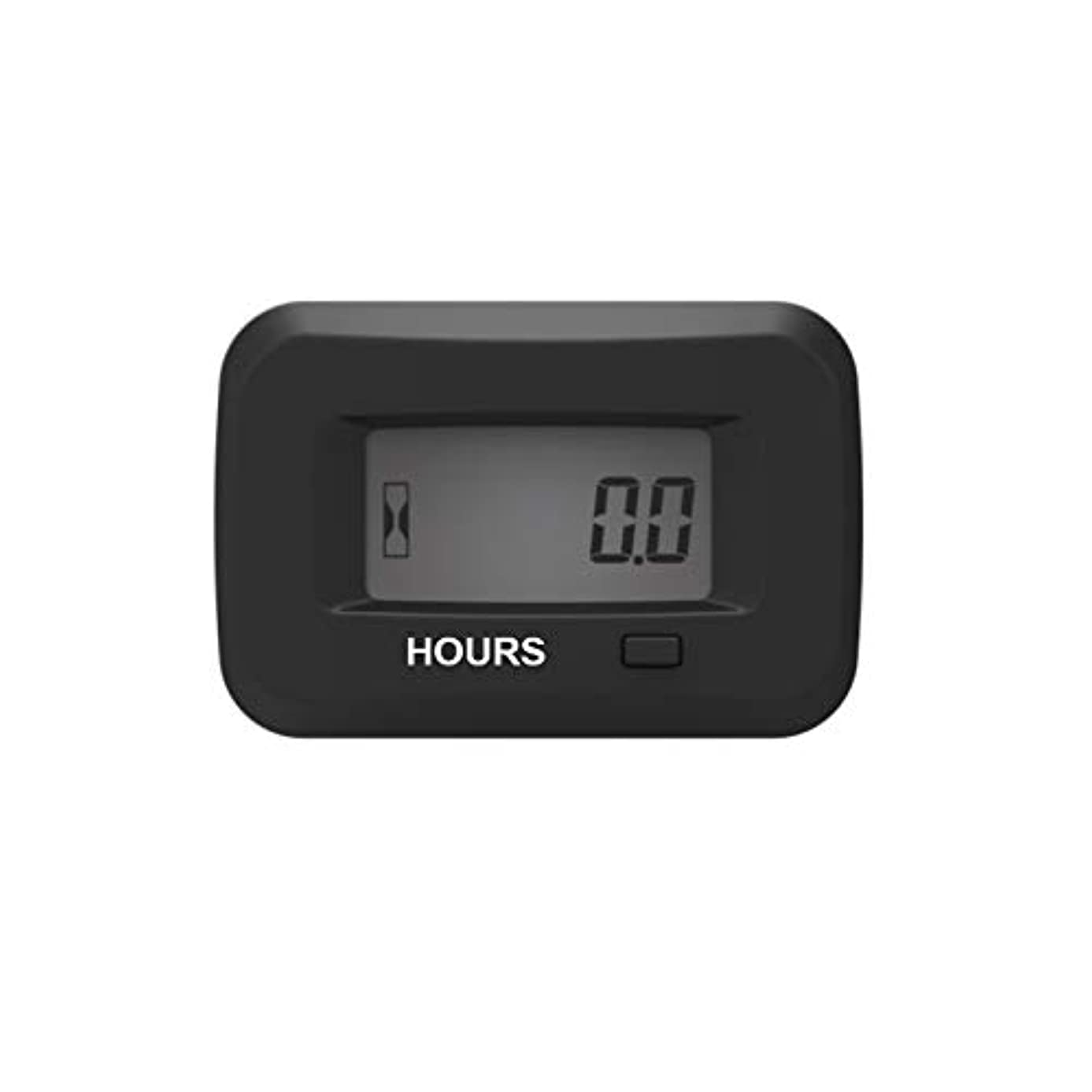 Runleader Digital hour meter service reminder gauge fits Zero Turn lawn mowers of various brands