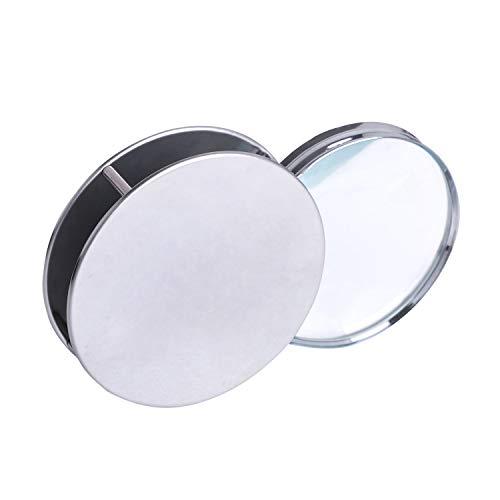 20 Fach Taschenlupe Kleine Leselupe Magnifer Handlupe 60mm Durchmesser faltbar Uhrmacherlupe Vergrößerungsglas für Lesen Inspektion Münzen Schmuck und Briefmarken
