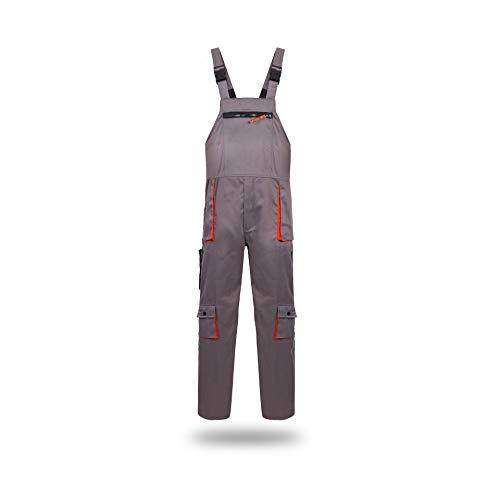 Hycomell Donna Uomo Salopette da Lavoro Extra Resistente Antistatico Pantalone Pettorina Adatto per Lavori Fai da Te Anti-Sporco Pantaloni da Lavoro