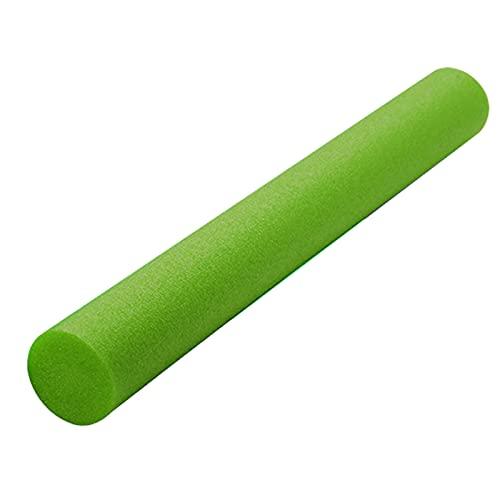 Yiifunglong Frites d'eau flottantes pour piscine - Tube en mousse - Pour débutants - Multifonction - Vert - 6,5 cm