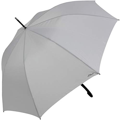 s.Oliver Stockschirm - Regenschirm - Schirm City grau