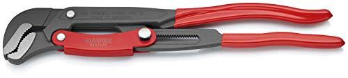 KNIPEX Rohrzange S-Maul mit Schnelleinstellung (420 mm) 83 61 015