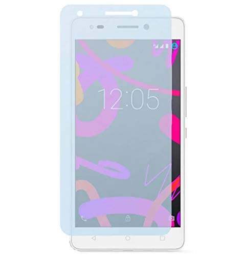 Tumundosmartphone Protector Pantalla Cristal Templado para BQ AQUARIS M 2017/ M5.5 Vidrio