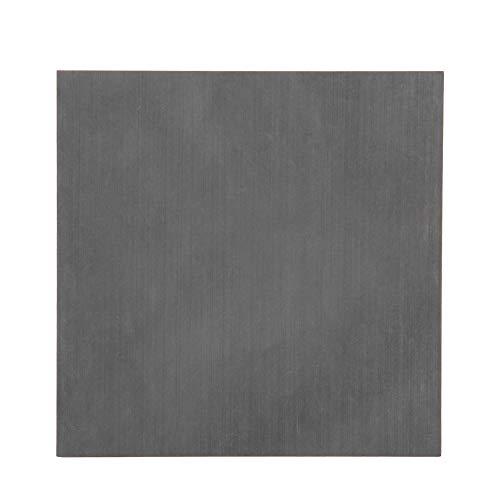 Graphitplatte, hochreine/dichte/zähe Graphit-Blindblockplatte 4 '' * 4 '' * 1 ''