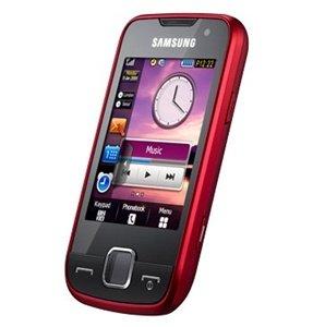Samsung GT-S5600 Handy cherry red