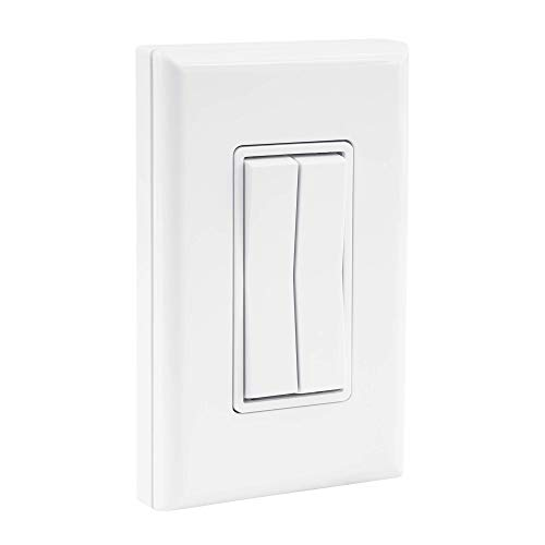Click for Philips Hue Wireless & Battery-Free Dimmer Light Switch - White
