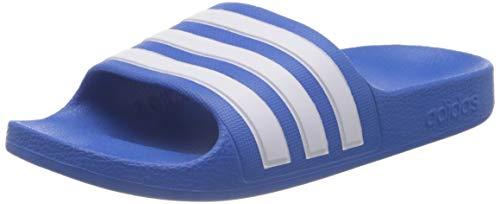 adidas Adilette Aqua K, Ciabatte Unisex-Adulto, Blu (True Blue Ftwr White), 31 EU
