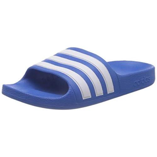 adidas Adilette Aqua K, Infradito Unisex-Bambini, True Blue/Ftwr White/True Blue, 38 EU