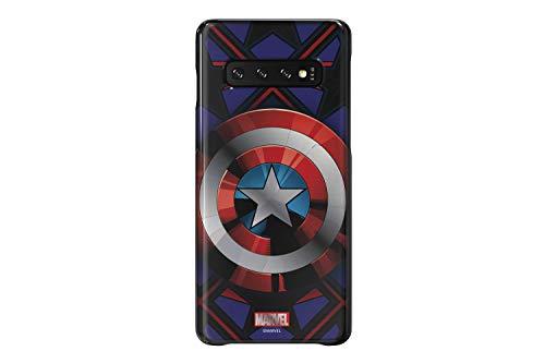 "Samsung Galaxy Friends Cover \""Marvel\'s Captain America\"" für Samsung Galaxy S10 (GP-G973HIFGK) blau"