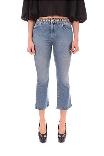 Luxury Fashion | My Twin Dames 201MP226A01104 Donkerblauw Katoen Jeans | Lente-zomer 20
