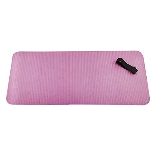 Amagogo Rodillera de Yoga-Almohadilla de Ejercicio compacta para Mayor Comodidad en la Rodilla, el Codo y la muñeca, 24x10x0,6 Pulgadas - Rosa