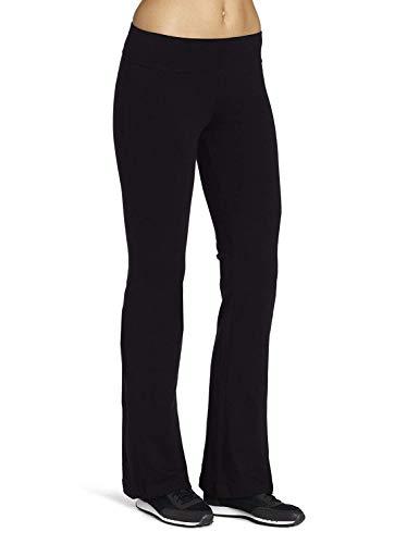 Spalding Women's Yoga Bootleg Pant, Black, Large