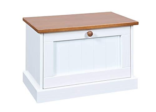 Inter Link FSC Landhausstil Garderobenschrank Massivholz weiß sepia braun Eingangsbereich
