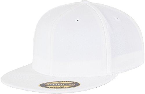 Flexfit Erwachsene Mütze Premium 210 Fitted, weiß (white), S/M