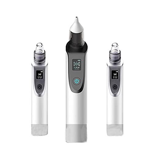 Aspiradores Nasales Aspirador Nasal para Bebe Saca Succionador De Mocos Electrico Carga USB de Cabezal Suave,