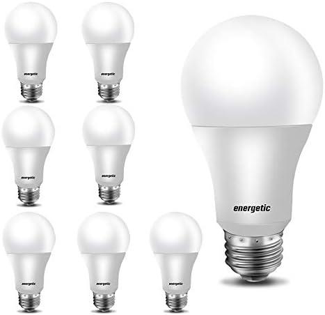 A19 Bulb 40 Watt Equivalent 3000K Warm White E26 Standard Base Non Dimmable UL Listed LED Light product image