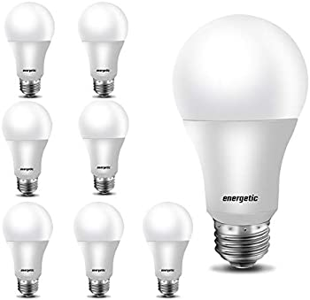 8-Pack Energetic Smarter Lighting 40W Equivalent LED Light Bulb