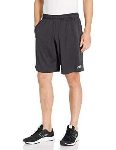 New Balance Men's Sport 10 Inch Knit Short, Black , X-Large