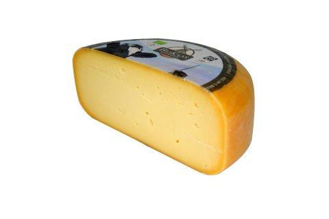 Biologischer gereifter / extragereifter Gouda Käse | Premium Qualität | Halber Käse - 2,3 kilo