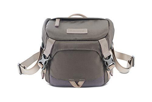 Veo GO 15M KG - Bolsa fotográfica de Hombro, 18x11x16cm, Caqui