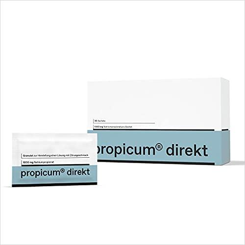 Propicum direkt Granulat   Nahrungsergänzungsmittel mit Propionsäure   1000 mg Natriumpropionat   Monatspackung mit 30 Sachets