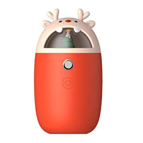 LGFV creatieve kersthandwarmer bevochtiger, USB-oplaadmodus, draagbaar drinkinstrument, geschikt voor binnen en buiten, camping