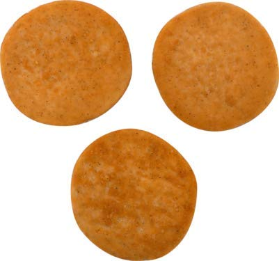 Tyson Fully Cooked Whole Grain Chicken Breast Pattie Fritters 3.19 oz, 52 Pieces, 2/5.4 Lb